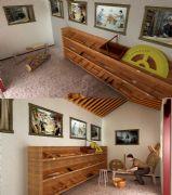近代木匠铺木工坊模型