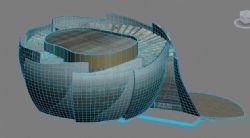 徐州音乐厅max模型