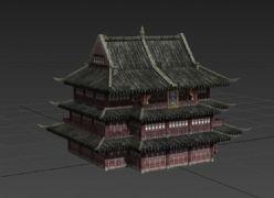滕王�w模型,max,fbx格式