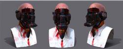 无聊做的一个钢铁人头像,无贴图