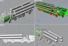 S300防空导弹发射车