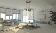 简约客厅,室内场景max3d模型