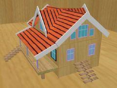 小房子max模型