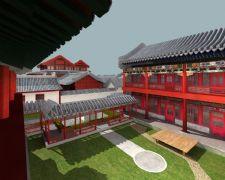 古建庭院max模型