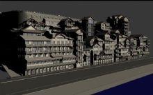 重庆洪崖洞max模型