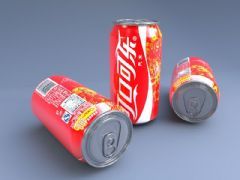 可口可乐灌装模型
