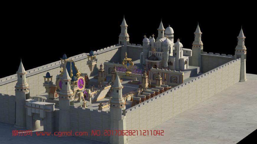 龙之谷城堡游戏场景