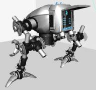 �C械跳蚤Maya模型