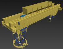 自动化行车机械臂模型