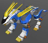 机械兽,虎兽maya模型