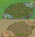 王者峡谷,召唤师峡谷5v5地图max场景