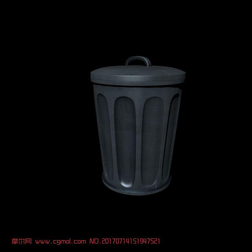 maya垃圾桶一个