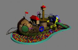 游乐园宝船