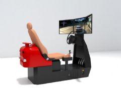 汽车驾驶游戏机