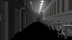 监狱场景maya模型