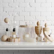 玻璃瓶,木制摆件,装饰品