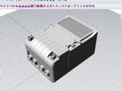 电能表模型,3dm,stp格式