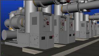 配电房maya模型