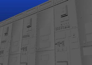 配电柜,配电箱maya模型