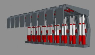 掩护式液压支架,煤矿设备