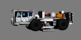 地震车,石油勘探车