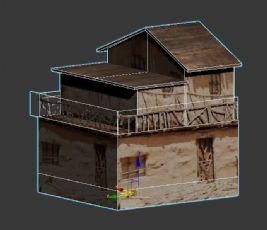 土房民房max模型