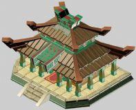 Q版小寺庙建筑