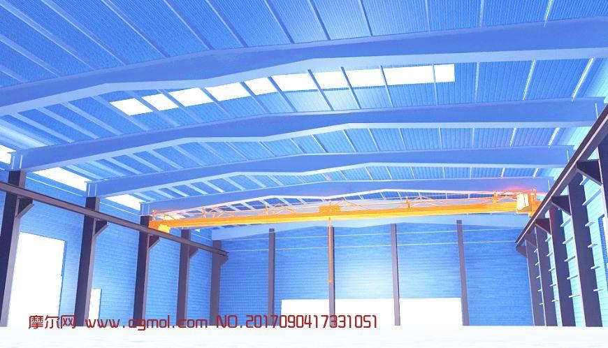 钢结构加工厂房