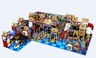 淘气堡儿童游乐场