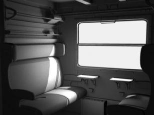 火车车厢maya模型