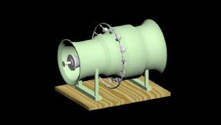 燃气轮机max2017模型