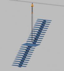 土办法安装钢楼梯