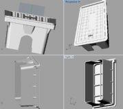 井盖3D模型,3dm.stp格式