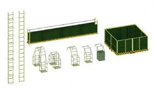 钢结构操作措施,安全设施
