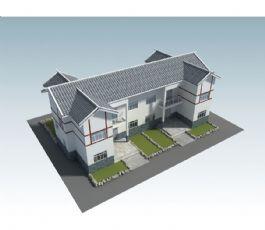 �p�勇�排新�r村�r房模型