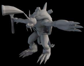 刺��怪maya模型