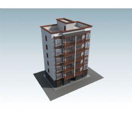 6层古建筑风格住房