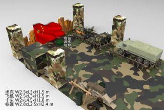 军事夏令营,军事基地