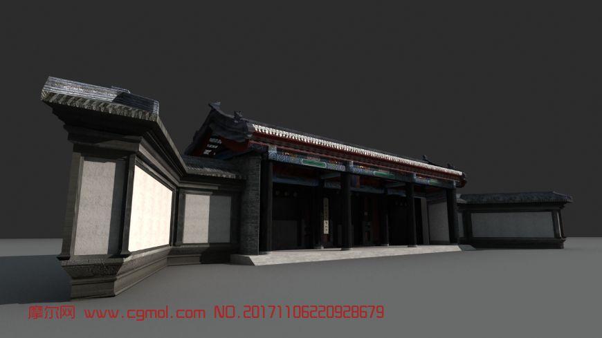 北京国子监大门