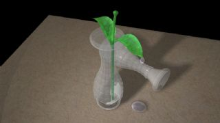 玻璃材质植物花瓶