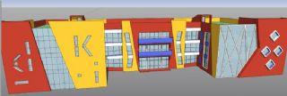 幼儿园,小学教学楼设计