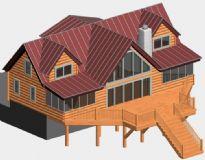 欧美木质建筑