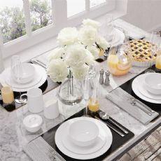 餐桌上的精致餐具和摆设,max,fbx格式