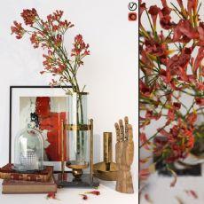 象牙花,木雕手掌等桌面装饰品max2009模型
