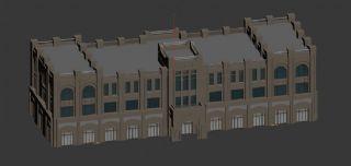 异域生土办公楼建筑