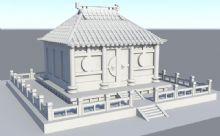 小寺庙古建筑