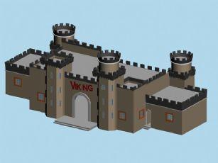 幼儿游乐场,城堡