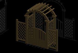 拱门max模型