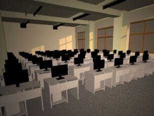 教室,机房