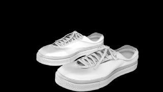 板鞋c4d模型